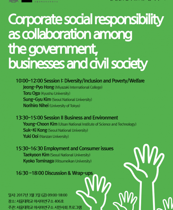 ​​Corporate Social Responsibility as Collaboration among the Government, Businesses and Civil Society