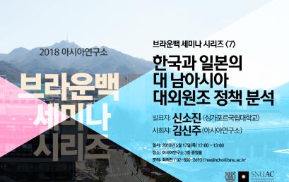 한국과 일본의 대 남아시아 대외원조 정책 분석