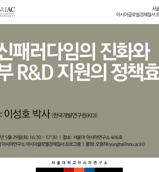 혁신패러다임의 진화와 정부 R&D 지원의 정책효과