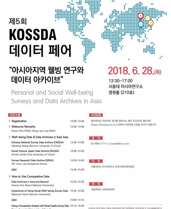 제5회 KOSSDA 데이터 페어