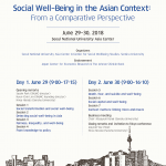 Social Well-Being in the Asian Context: From a Comparative Perspective