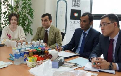 우즈베키스탄 국제지역전략연구소 대표단 연구소 방문