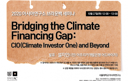 Bridging the Climate Financing Gap: CIO(Climate Investor One) and Beyond