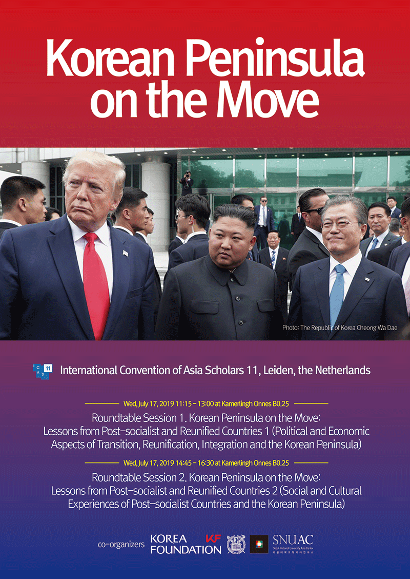 Korean Peninsula on the Move