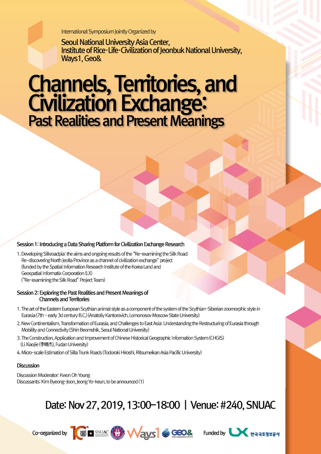 Channels, Territories, and Civilization Exchange: Past Realities and Present Meanings