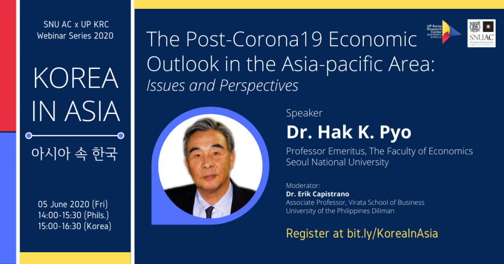 The Post-Corona-19 Economic Outlook in Asia-Pacific Region: Issues and Perspectives