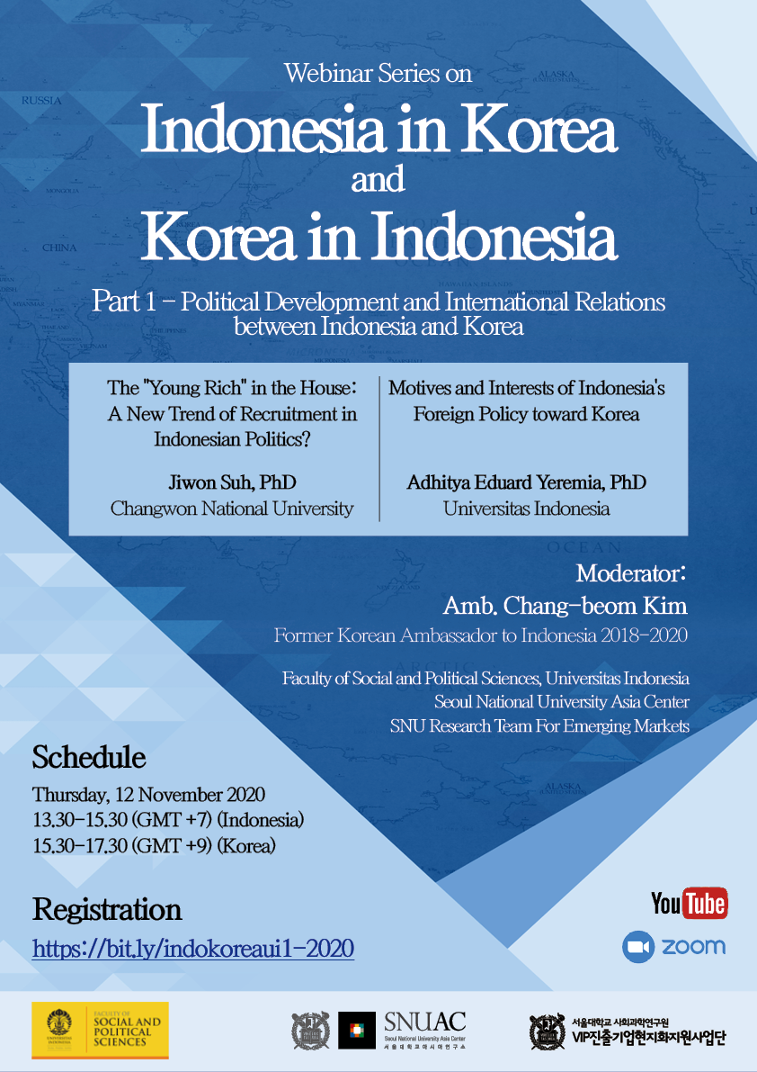Political Development and International Relations between Indonesia and Korea
