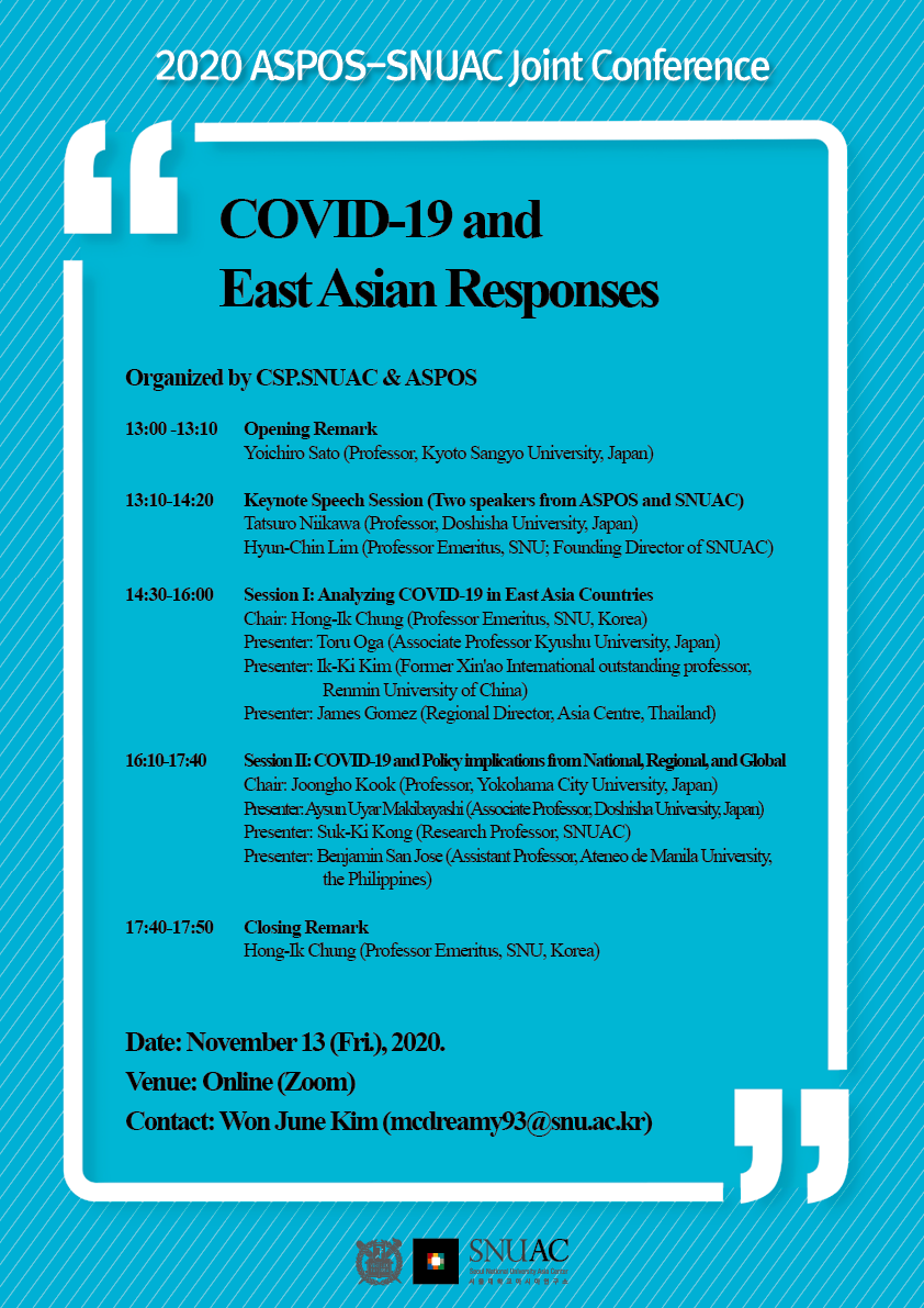 COVID-19 and East Asian Responses