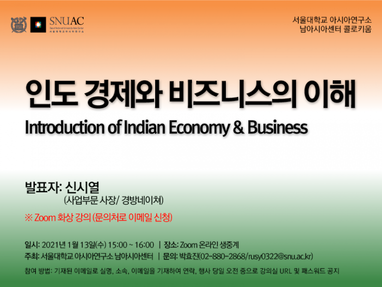 Introduction of Indian Economy & Business