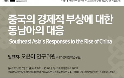 중국의 경제적 부상에 대한 동남아의 대응