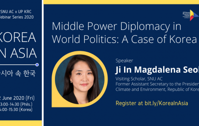 Middle Power Diplomacy in World Politics – A Case of Korea