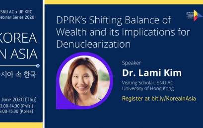DPRK's Shifting Balance of Wealth and Its Implications for Denuclearization