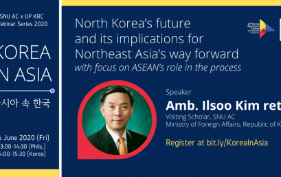 North Korea's Future and Its Implications for Northeast Asia's Way Forward; With Focus on ASEAN's Role in the Process
