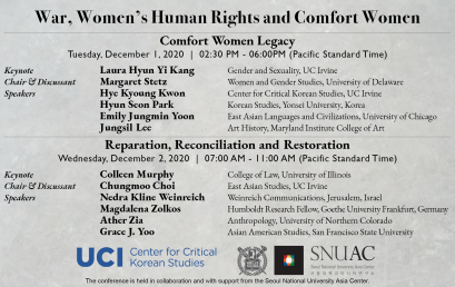 War, Women's Human Rights and Comfort Women: Reparation, Reconciliation and Restoration