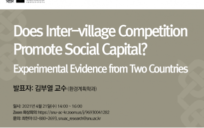 Does Inter-village Competition Promote Social Capital? Experimental Evidence from Two Countries