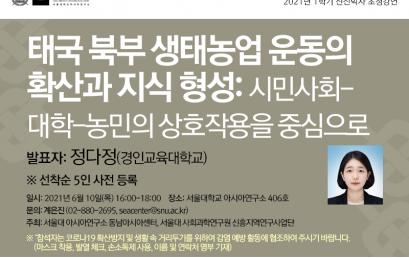 태국 북부 생태농업 운동의 확산과 지식 형성: 시민사회- 대학-농민의 상호작용을 중심으로
