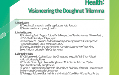 Building Asia-Pacific Regional Hub for Ecological-Societal Health:  Visioneering the Doughnut Trilemma