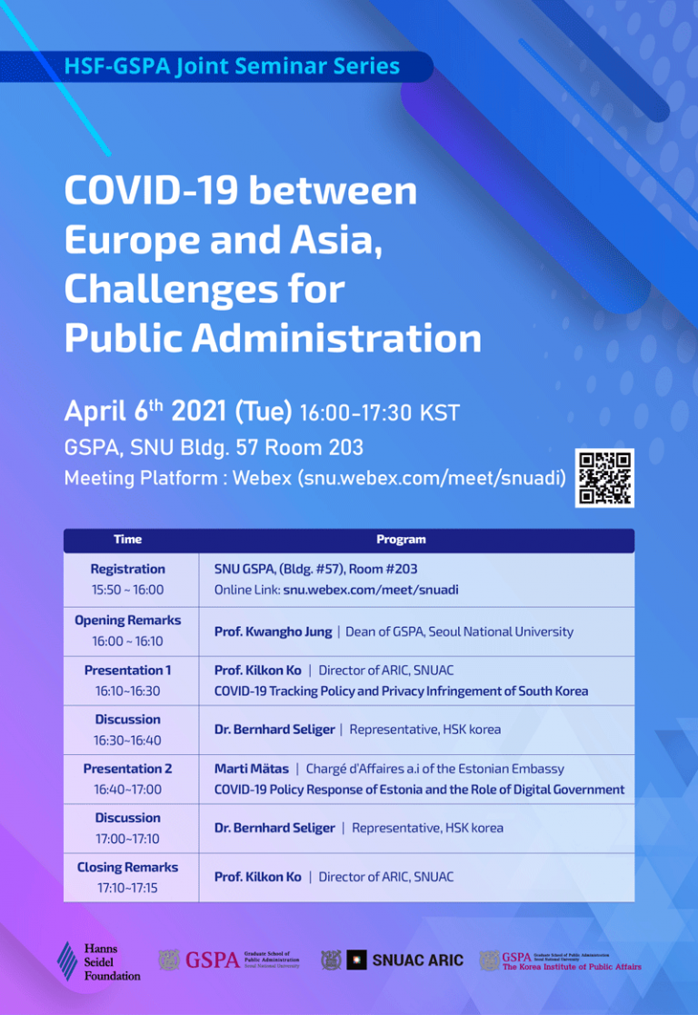 COVID-19 between Europe and Asia, Challenges for Public Administration
