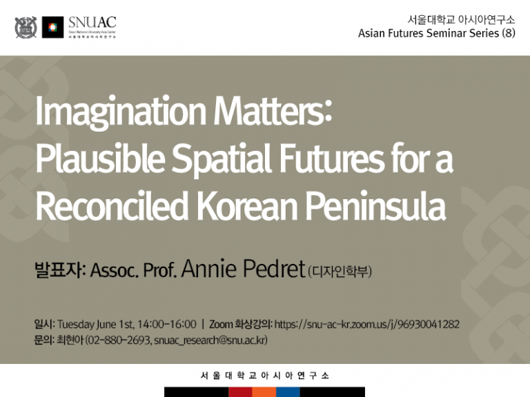 Imagination Matters: Plausible Spatial Futures for a Reconciled Korean Peninsula